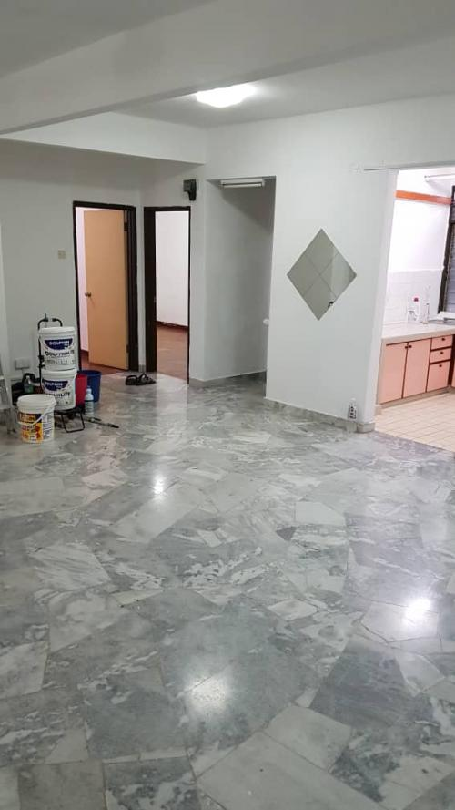 Goodyear Court 8 Subang Perdana Low Level,Repaint,Kitchen Cab,Airconds
