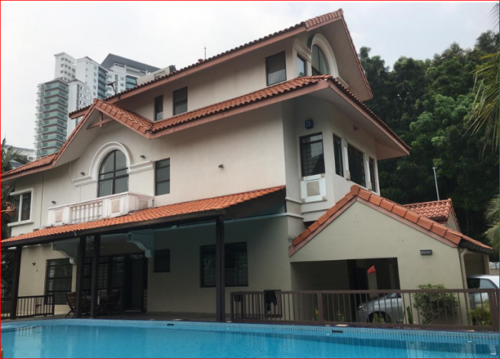3 storey bungalow Mutiara Damansara Bdr Utama Fully Furnish Corner Lot